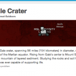 Mars Curiosity - Gale Crater - Foursquare