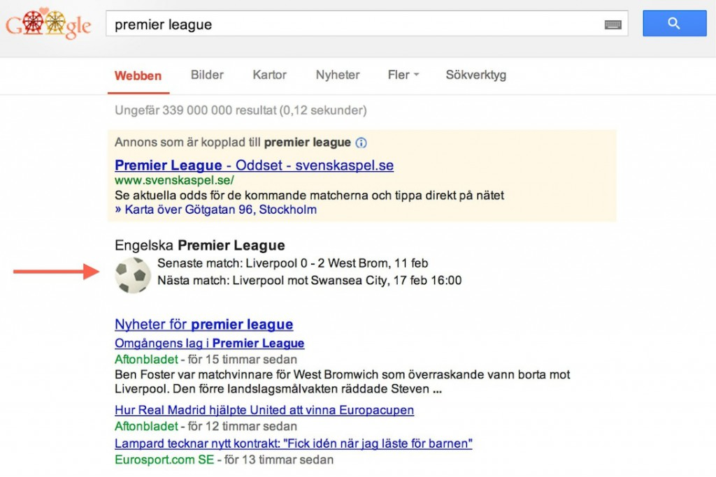 premier league - Sök på Google Svenska