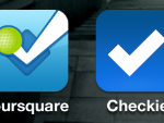 Checkie Foursquare App iPhone icon