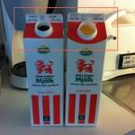 Arla finslipar designen på mjölkpaketet