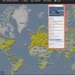 Flygradar live över hela världen