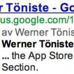 Werner Töniste - Author Rank